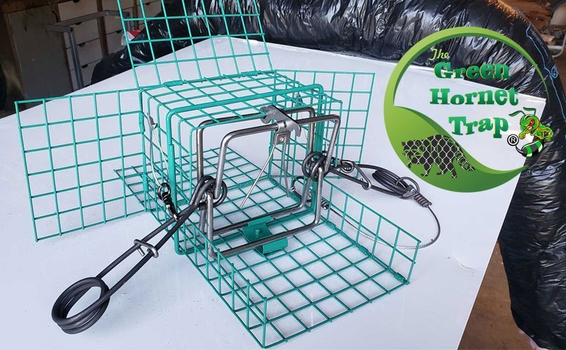 The Green Hornet Trap made and distributed by Viking Product Supply