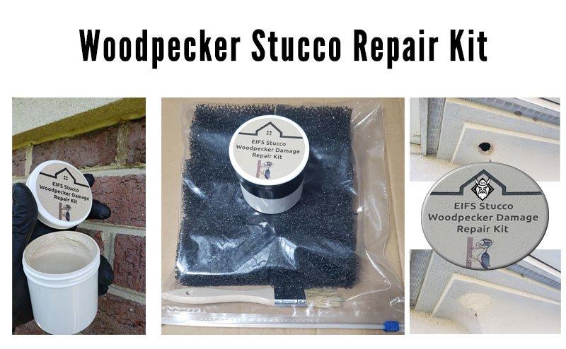 Wood Stucco Repair Kit Photo at Viking Product Supply